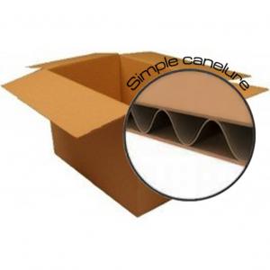 Lots de cartons neufs neutre simple cannelure